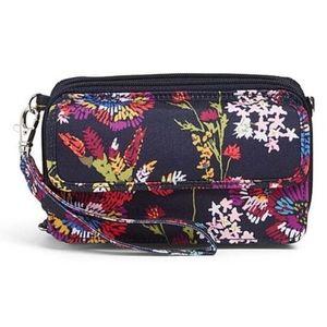 Vera Bradley Midnight Wildflowers RFID Wallet
